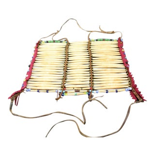 Plains Indian Beaded Breast Plate, circa 1890-1900