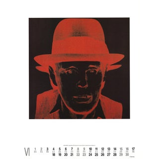 Andy Warhol, Joseph Beuys, Offset Lithograph, 1991 For Sale
