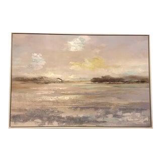 Celadon Art Abstract Landscape Reproduction For Sale