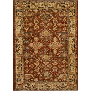 Istanbul Shamika Rust/Beige Turkish Hand-Knotted Rug -11'11 X 18'2 For Sale
