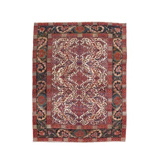 Persian Bakhtiari Carpet - 10′9″ × 13′4″ For Sale