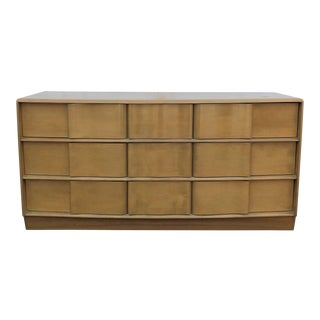1960s Mid Century Modern Heywood Wakefield 9-Drawer Dresser For Sale