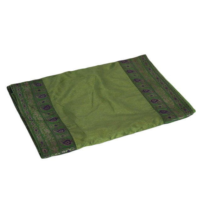 Jade Heritage Silk Runner - Image 1 of 4