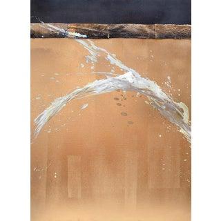 Karen Green Recor 'Gilded II' Painting For Sale