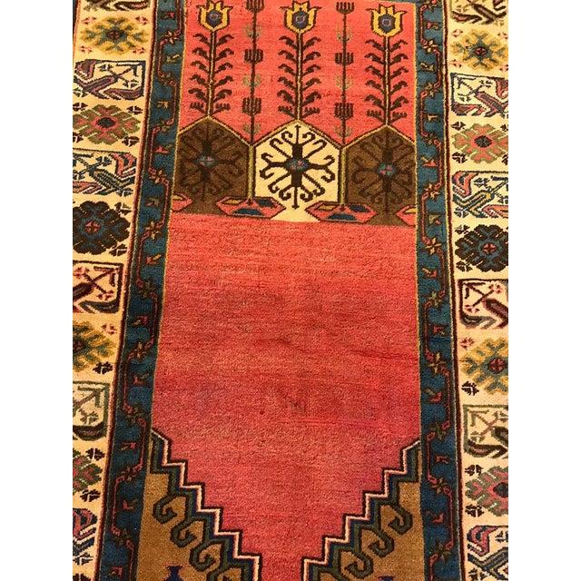 Semi-Antique Old Konya Anatolian Rug - 3'6'' x 6'2'' - Image 4 of 6