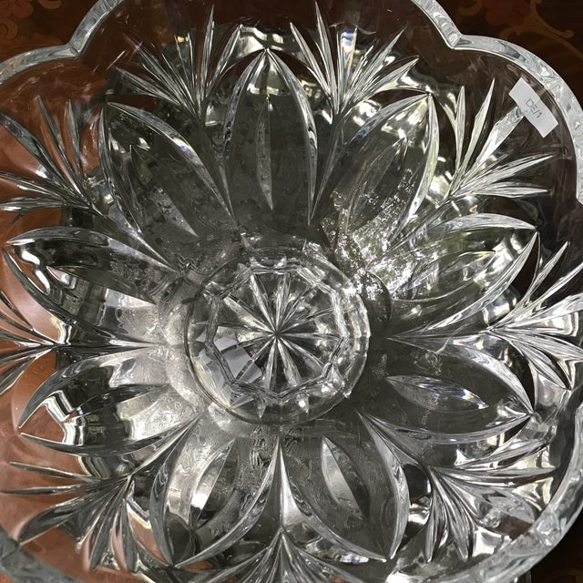 Crystal Bowl Marquis by Waterford Crystal Canterbury Pattern Bowl/Final Reduction For Sale - Image 9 of 10