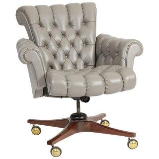 Dunbar Executive Desk Chair by Edward Wormley For Sale