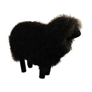 Black Sheep Footstool