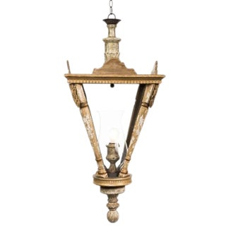 Large Aidan Gray French Lantern Pendant For Sale
