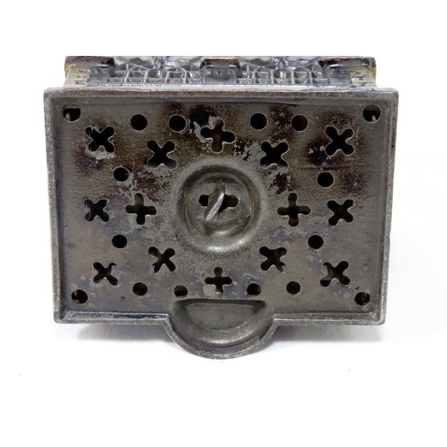 Late 19th Century 1880s Antique Cast Iron Coin Bank For Sale - Image 5 of 7