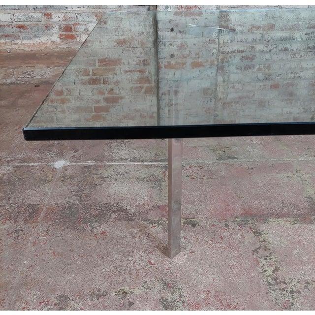 Glass Knoll Studio Barcelona Coffee Table -Mies Van Der Rohe For Sale - Image 7 of 9