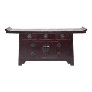 3 Drawer 2 Door Chinese Coffer For Sale