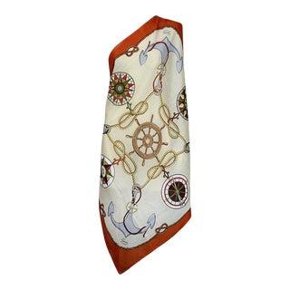 Gucci Nautical Cotton Scarf For Sale