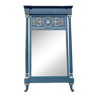1960s Palladio Hand Craved Wall Mirror For Sale
