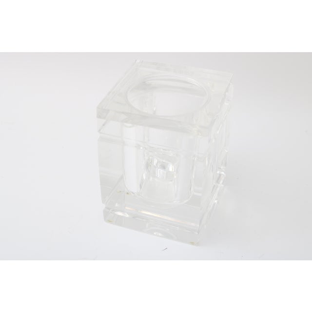 Lidded Lucite Ice Bucket - Image 2 of 9