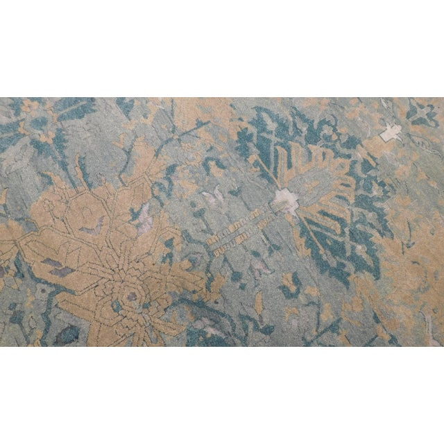 Erased Hand-Knotted Luxury Rug - 8′ × 10′ - Image 4 of 8