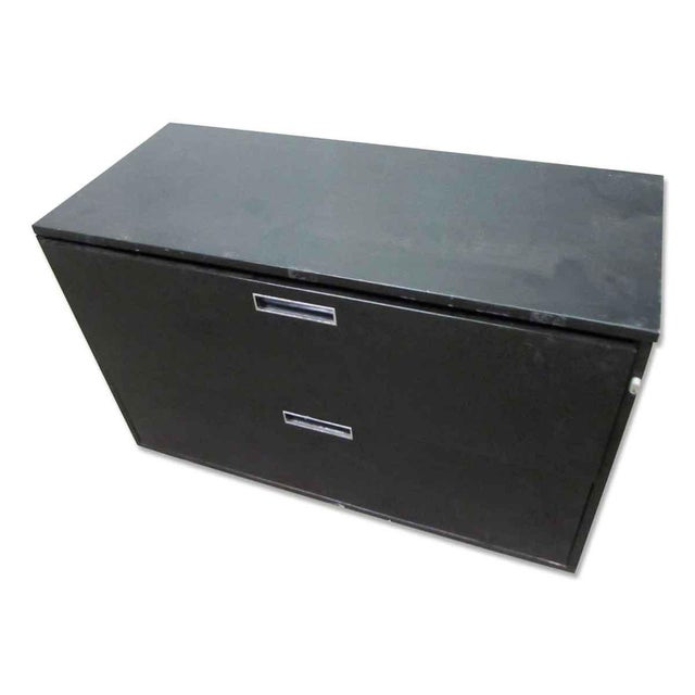 Metal Locking Lateral File Cabinet For Sale - Image 7 of 7