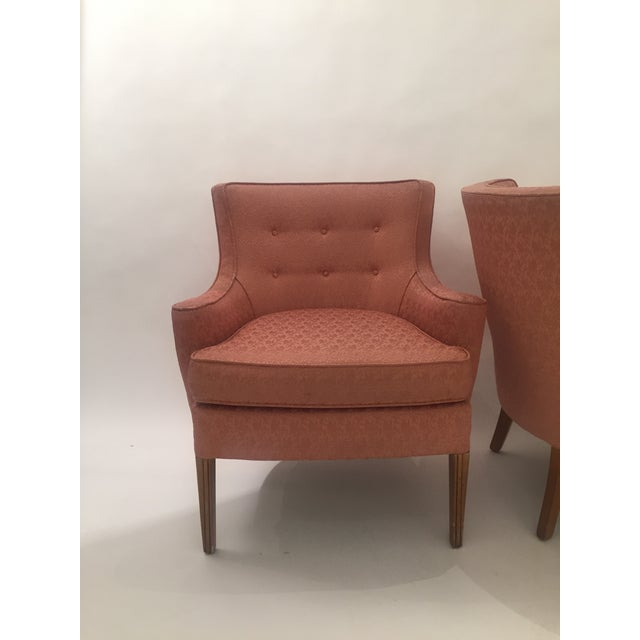 Italian Mid-Century Curved Arm Chairs - A Pair - Image 5 of 11