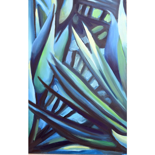 'Song of Dark Leaves' Oil Painting (Featured) For Sale - Image 9 of 9