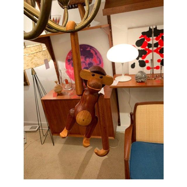 Kay Bojesen Teak And Limba Wood Toy Monkey