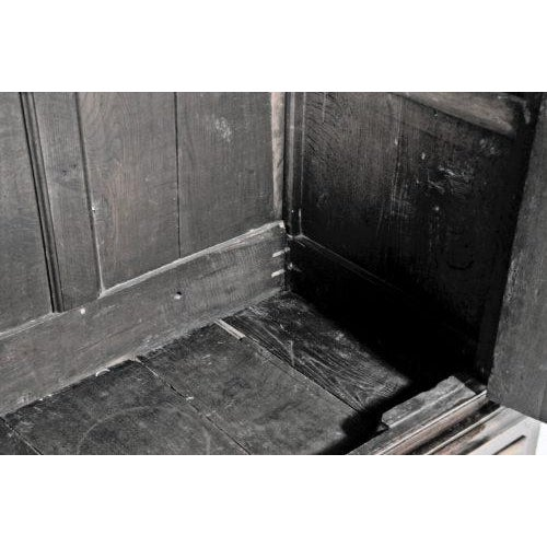 Metal 1770 English Oak Cupboard/Livery Cabinet For Sale - Image 7 of 12