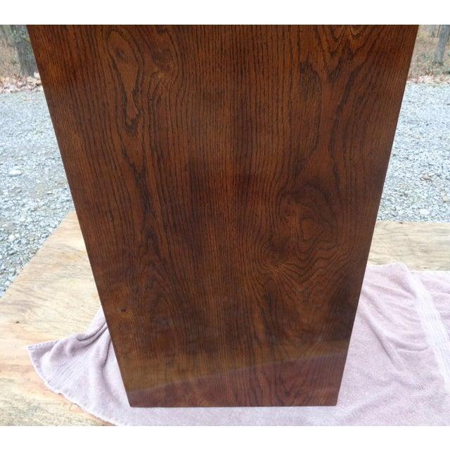 Vintage Henredon Campaign Oak Dresser Chest of Drawers For Sale - Image 10 of 13