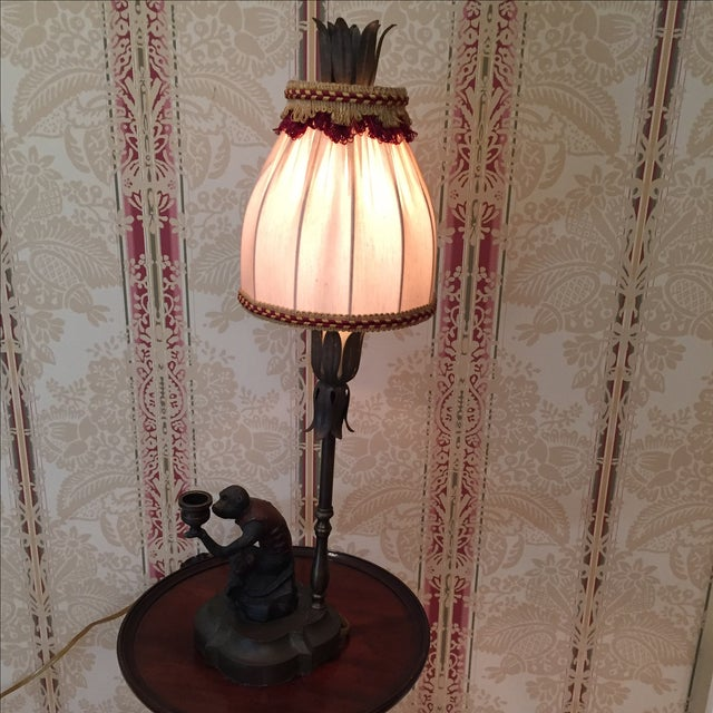 Chelsea House Monkey Lamp For Sale - Image 5 of 7
