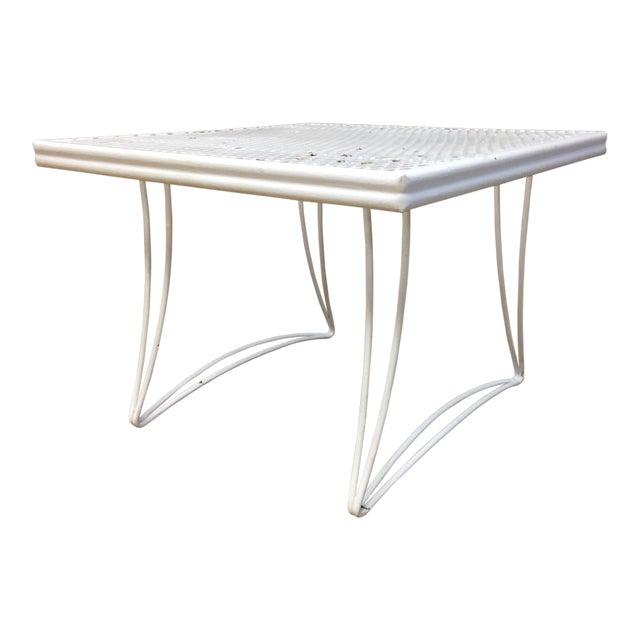 Mid Century Modern White Homecrest Side Table - Image 1 of 11