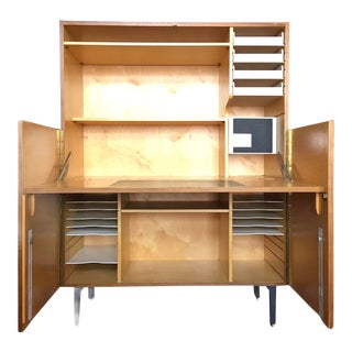 Vintage Mid-Century Secretary Desk by Cees Braakman For Sale