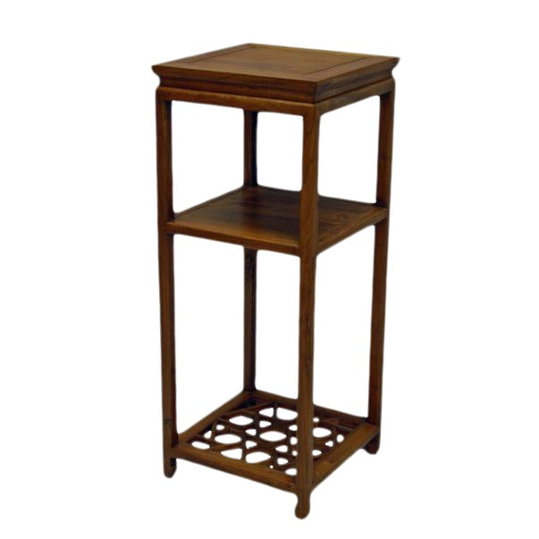 4c1dcdde37054 Chinese Tall Icicle Accent Table