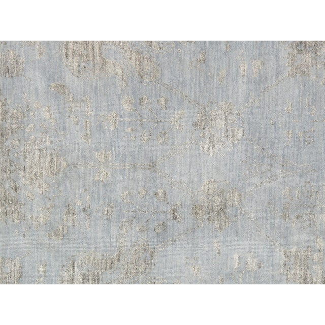 Pasargad's Transitiona Gray Wool Rug- 10' x 14' - Image 2 of 4