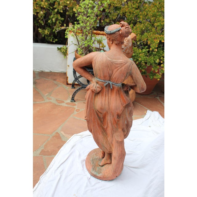 Mid 19th C. English Signed Garden Statuary For Sale - Image 10 of 12