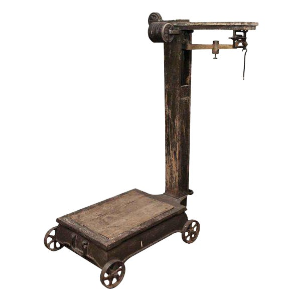 Antique Fairbanks Platform Scale - Image 1 of 9