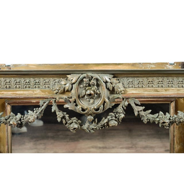19th-Century French Marble Top Console - Image 4 of 10