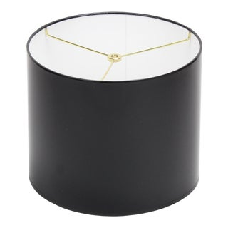 Small High Gloss Drum Lamp Shade For Sale