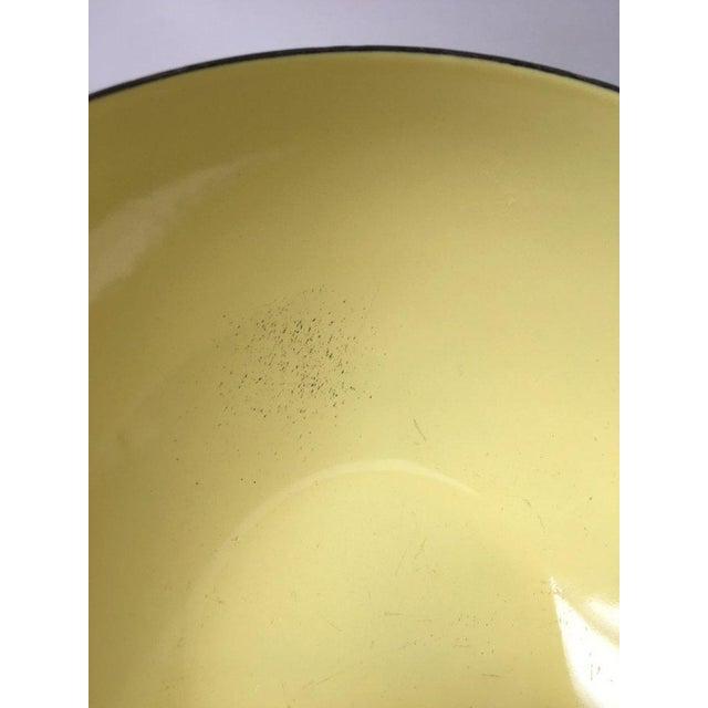 White Cathrineholm Scandinavian Modern Enamel Nesting Bowls - Set of 5 For Sale - Image 8 of 11