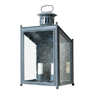 Country Malee Small Wall Lantern For Sale