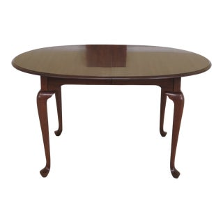 Pennsylvania House Oval Cherry Dining Room Table For Sale