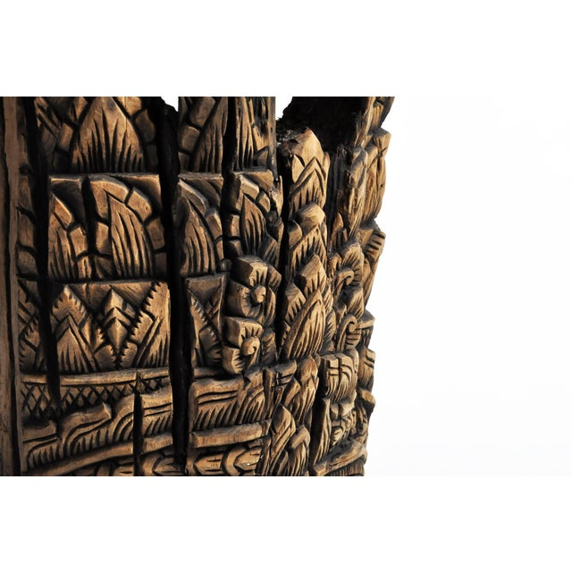 Southeast Asian Carving of Goddess For Sale - Image 10 of 13
