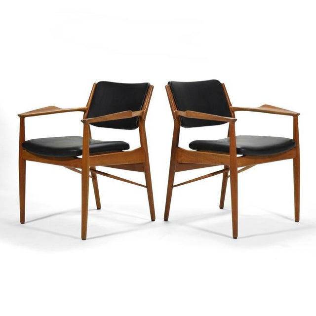 Arne Vodder Armchairs by Sibast For Sale In Chicago - Image 6 of 8