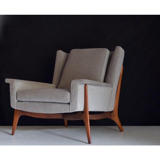 Mid-Century Modern Vladimir Kagan for Dreyfuss Lounge Chair, Circa 1950s For Sale - Image 3 of 7