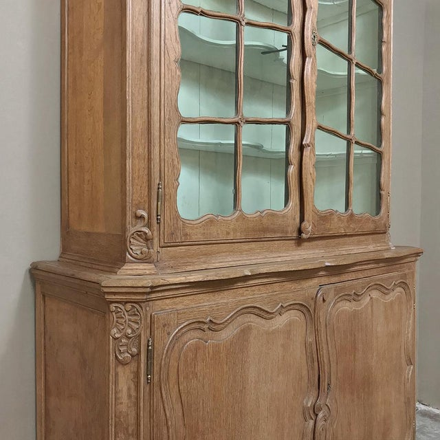 Wood 19th Century Italian Tuscan Bookcase For Sale - Image 7 of 13