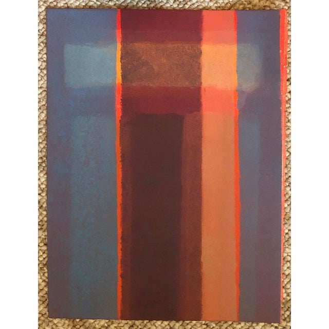 1980s Vintage Mariko Nutt Abstract Monoprint For Sale - Image 9 of 9