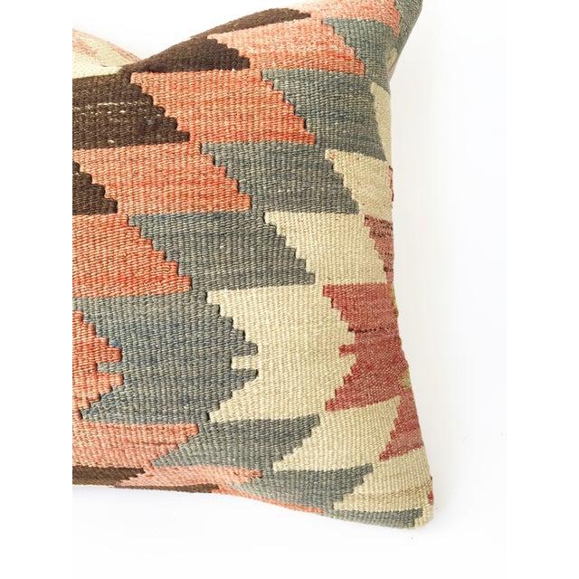 Vintage Kilim Square Pillowcase - Image 4 of 5