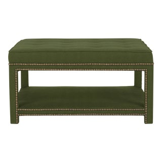 Casa Cosima Kensington Ottoman, Broccoli For Sale