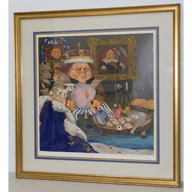 """Charles Bragg """"King of Me's"""" Limited Edition Signed Serigraph Fantastic color serigraph by listed artist Charles Bragg..."""