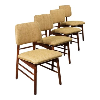 1952 Vintage Greta Grossman Model 6260 Chairs - Set of 4 For Sale