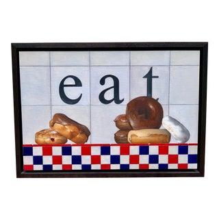 "Anthony Mastromatteo Painting, ""Eat"" For Sale"