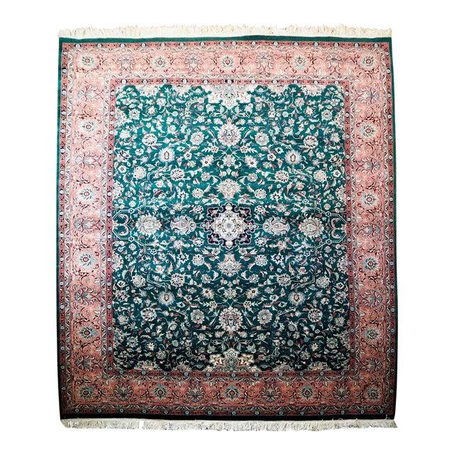 Persian Kashan Rug- 8′ × 10′ - Image 1 of 8
