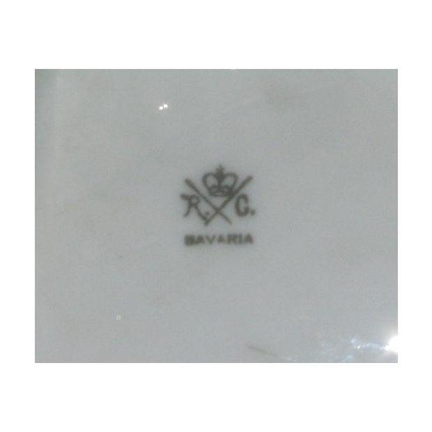 Rosenthal Antique Porcelain Pipe & Match Holder - Image 6 of 6